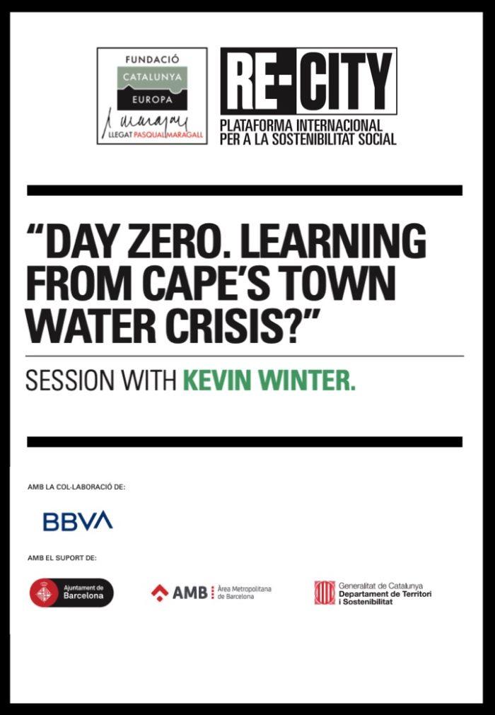 Guerra per l'aigua i nexe amb l'energia i la justícia social. Kevin Winter