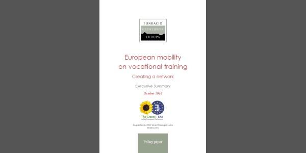 La movilidad europea en la formación profesional: creación de una red de trabajo