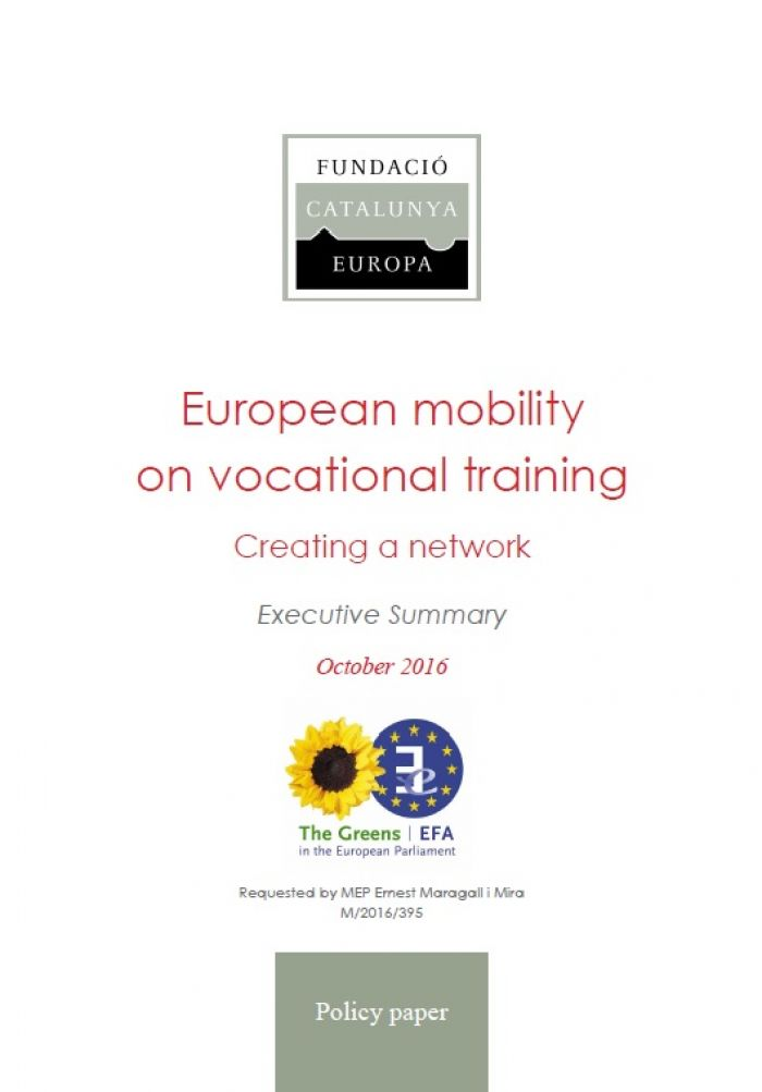 European mobility on vocational training: Creating a network