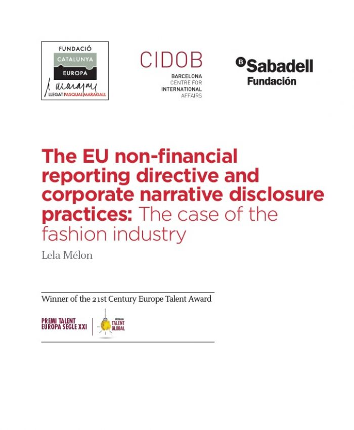 The EU non-financial reporting directive and corporate narrative disclosure practices: The case of fashion industry