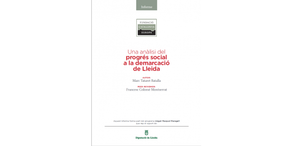 An analysis on social progress in the demarcation of Lleida