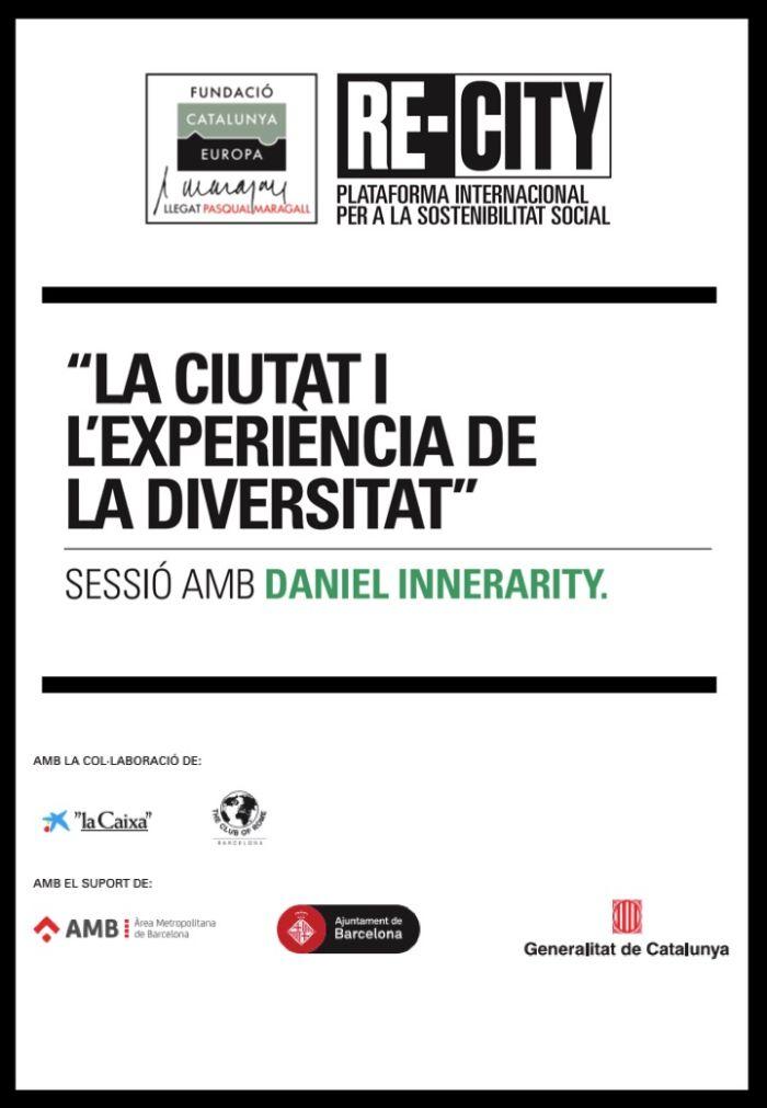 La ciutat i l'experiència de la diversitat - Daniel Innerarity