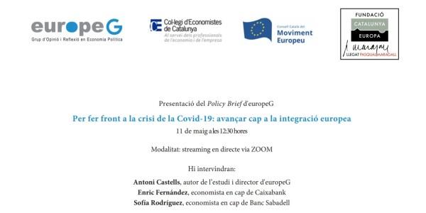 Tackling the Covid-19 crisis: Moving towards European integration