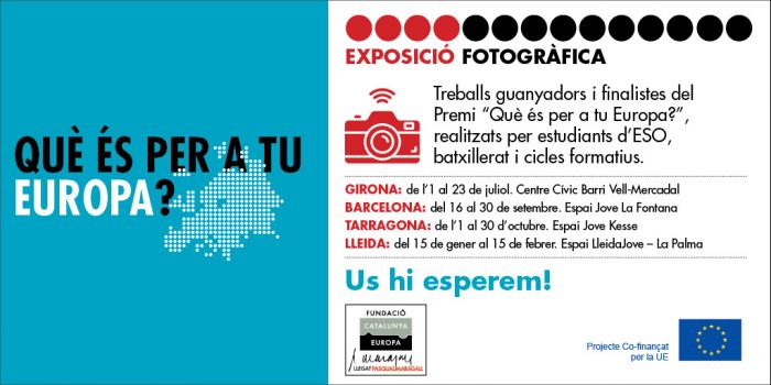 Dónde ver la exposición de fotografía ¿Qué es para ti Europa?