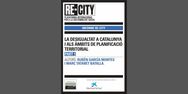 The inequality in Catalonia and in the territorial sector (Part 1)
