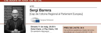 Tertulia Claris - Retos de la IX legislatura del Parlamento Europeo y la Conferencia sobre el futuro de la UE