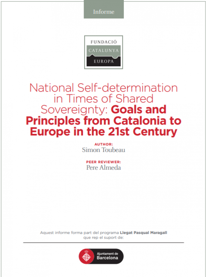 National Self-determination in times of Sovereignty