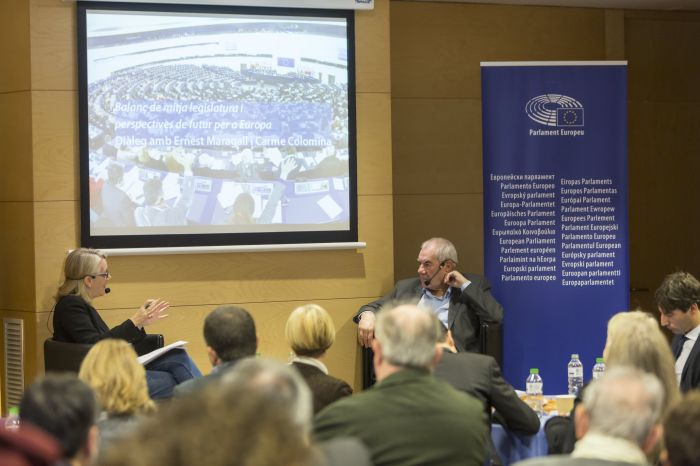 Ernest Maragall tanca la seva etapa com a eurodiputat