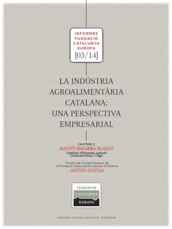 The Catalan agri-food industry, a business perspective
