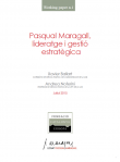 Pasqual Maragall, leadership and strategic management
