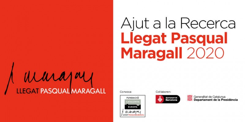 Abierta la Convocatoria de Ayuda a la Investigación Llegat Pasqual Maragall 2020