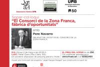 Cena-coloquio con Pere Navarro