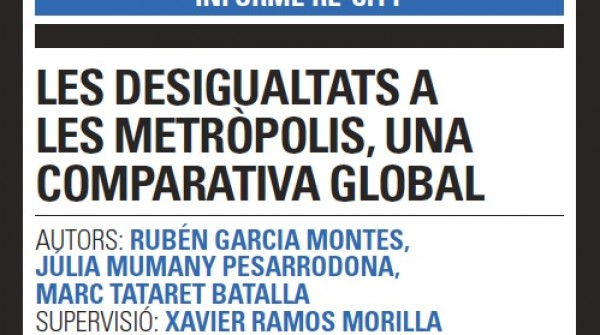 Inequalities in the metropolis, a global comparison