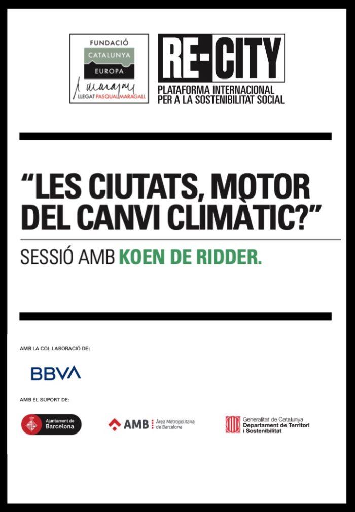 Las ciudades, ¿motor del cambio climático? Koen de Ridder