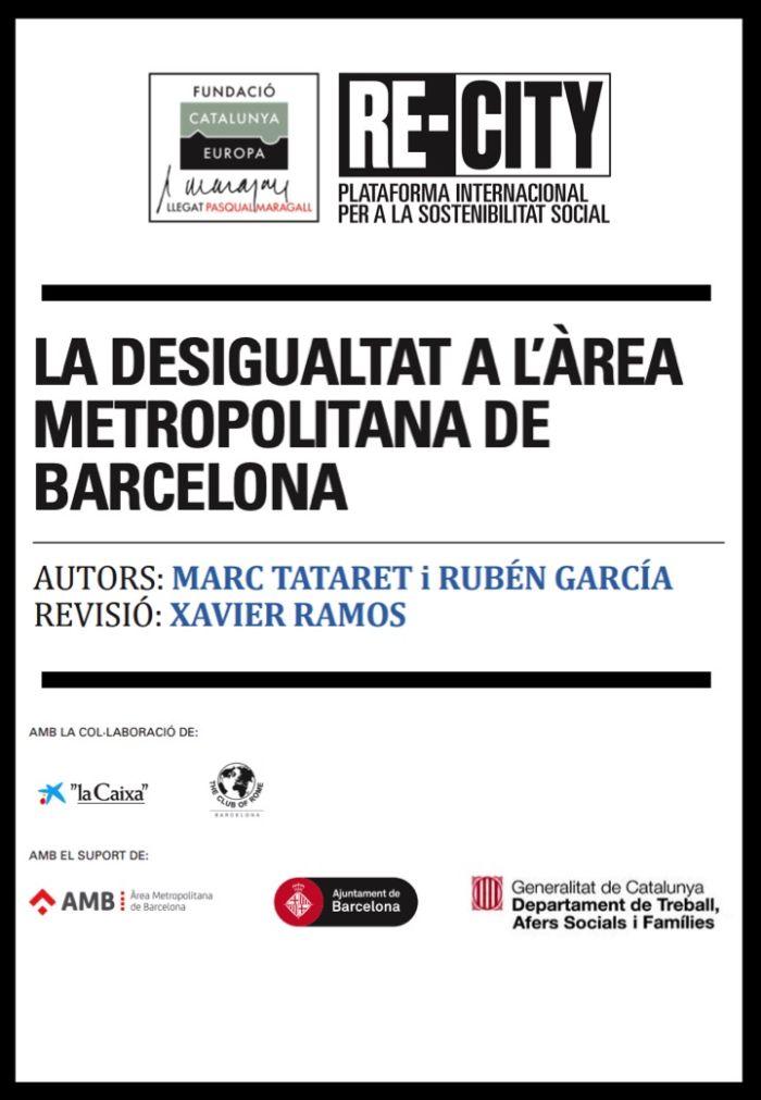 Inequality in the Barcelona Metropolitan Area