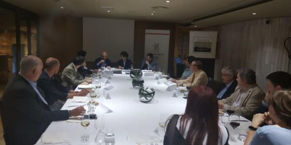 Cena-coloquio con Josep Maria Martorell