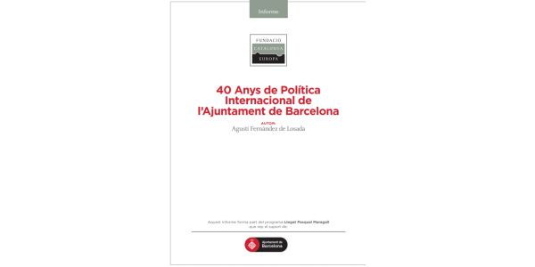 40 years of international policy in Barcelona City Council