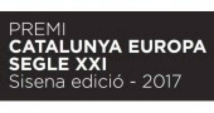 Javier Arregui is the winner of the VI Catalunya-Europa XXIst Century Prize