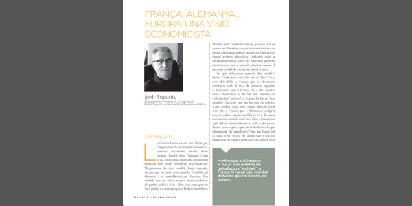 Francia, Alemania ... Europa: una visión economicista