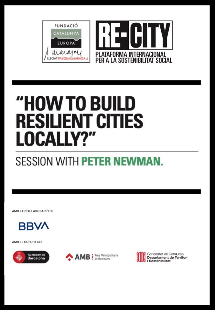 L'impacte de les ciutats en el canvi climàtic: Nexe urbà-rural. Peter Newman