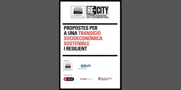 Proposals for a sustainable and resilient socio-economic transition