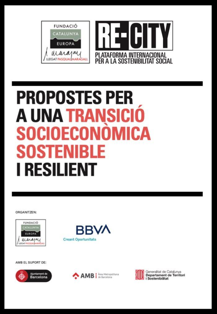 Propuestas para una transición socioeconómica sostenible y resiliente