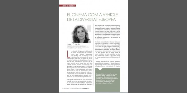 El cinema com a vehicle de la diversitat europea