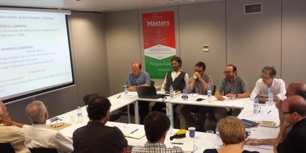 Research Seminar - Llegat Pasqual Maragall