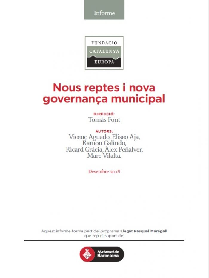New challenges and new municipal governance