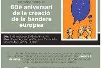 Commemoration of the 60th anniversary of the creation of the European flag
