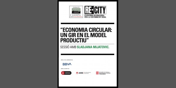 Circular Economy: A shift in the productivity model. Sladjana Mijatovic