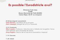 """El seminari """"És possible l'Eurodistricte avui?"""" conclou amb una crida a la integració del territori"""