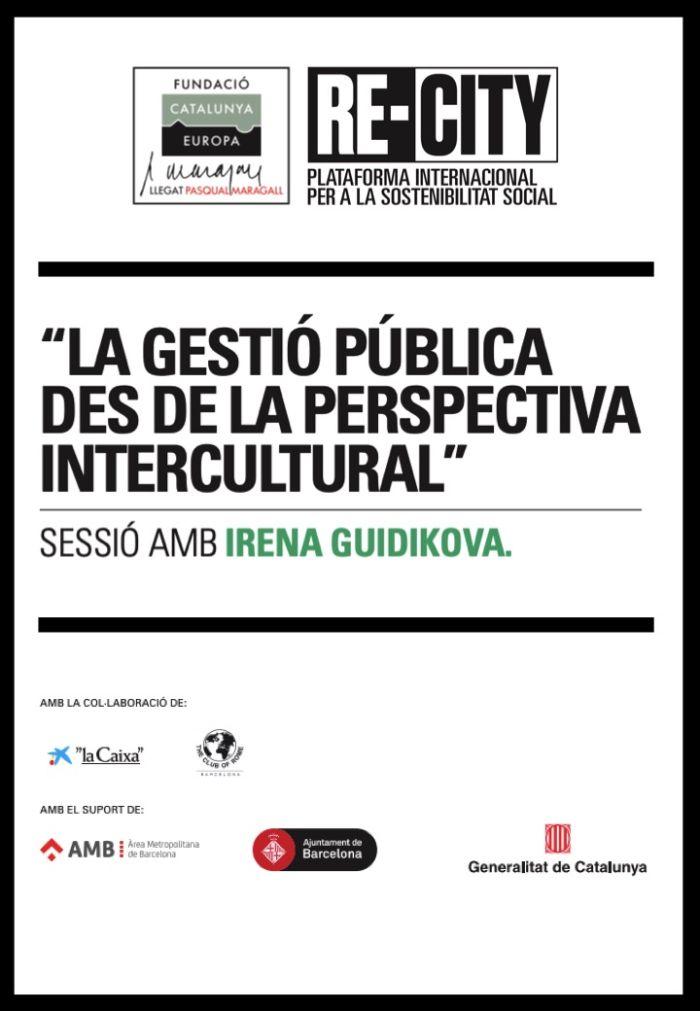 La gestió pública des de la perspectiva intercultural. Irena Guidikova