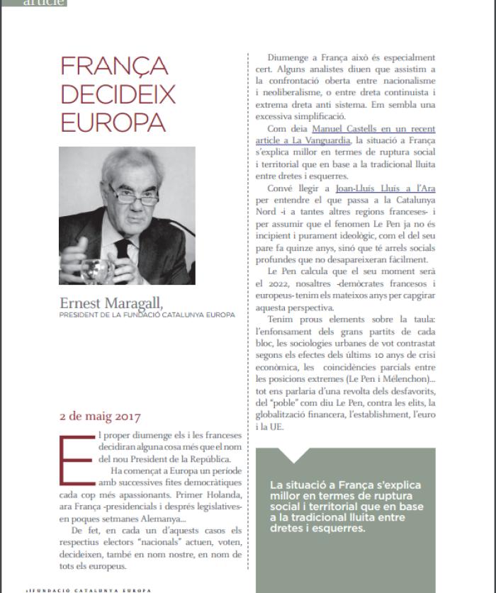 França decideix Europa