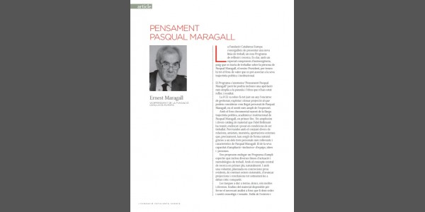 Thought Pasqual Maragall