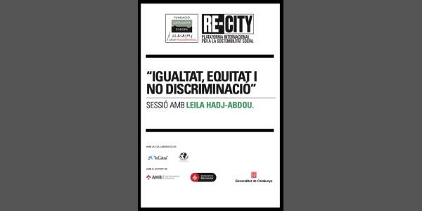 Oportunitats i reptes per la interculturalitat i la igualtat. Leila Hadj-Abdou