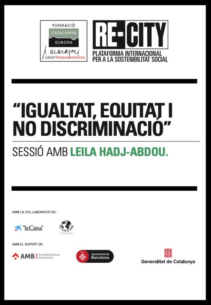 Oportunidades y retos por la interculturalidad y la igualdad. Leila Hadj-Abdou